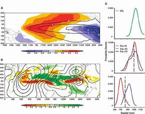 ( A ) Contours are of the þ 2 SD experiment (iii) and are ...