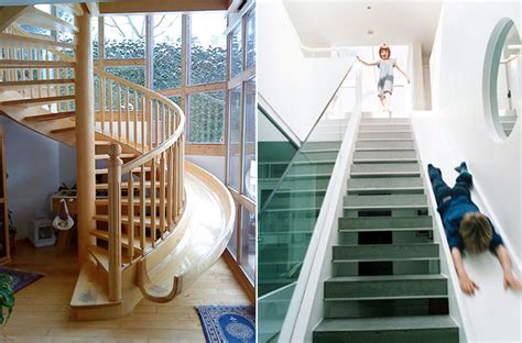 Fancy Staircase Treatments : Slide Staircases Spiral Stair
