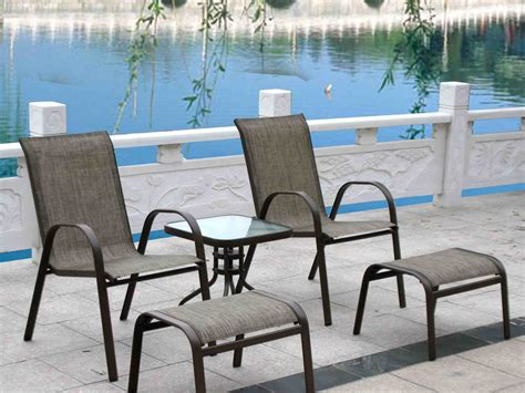 patio set with ottoman patio furniture with 2 ottomans china patio furniture