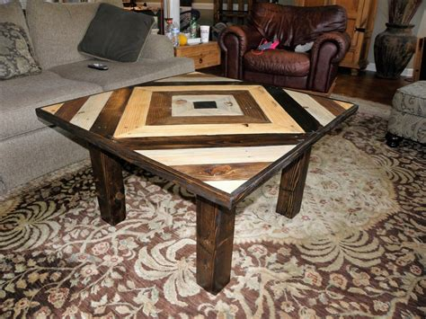 pallets square coffee table wood pallet furniture