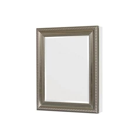 Home Depot Recessed Medicine Cabinets by Pegasus 24 In X 30 In Recessed Or Surface Mount Mirrored