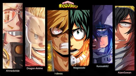 hero academia characters  hd wallpapers hd