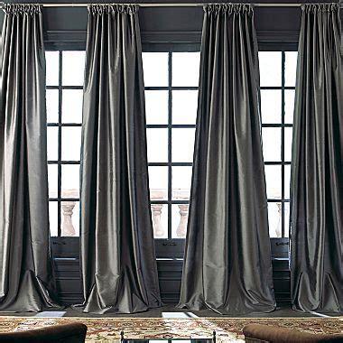 royal velvet 174 grandeur silk window panel jcpenney