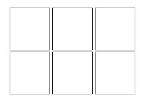 Six Panel Comic Template By Hananunio On Deviantart