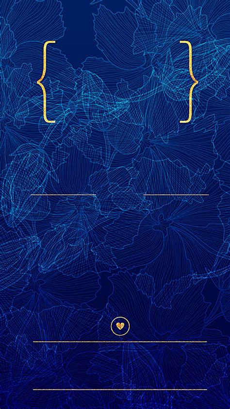 cool simple blue background gold wallpaper background