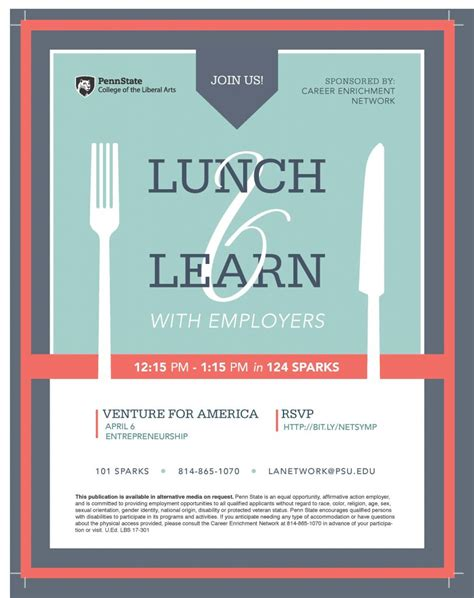 lunch  learn flyer   freemium templates