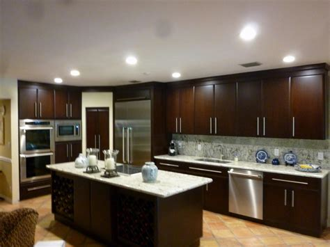kitchen kitchen colors with dark brown cabinets rustic