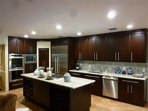 kitchen colors brown cabinets remodel galley inside With kitchen colors with white cabinets with outdoor wall and fence art