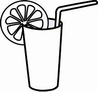 Glass Of Milk Clipart Black And White