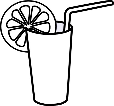 mixed drink clipart black and drink black and white clipart