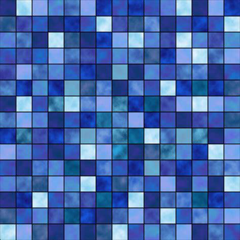 blue mosaic blue mosaic by fp decalgirl