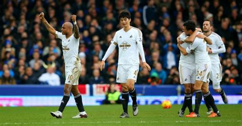 Swansea win at Everton in Guidolin's first game   TEAMtalk