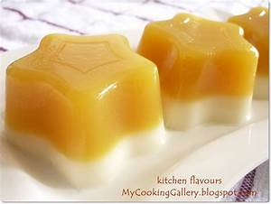 kitchen flavours: Mango and Orange Jelly