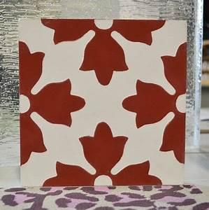 Carreaux De Ciment Rouge : les couleurs de carreaux de ciment cimenterie de la tour ~ Melissatoandfro.com Idées de Décoration