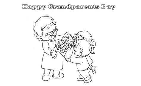 Printable Grandparents Day Coloring Sheets
