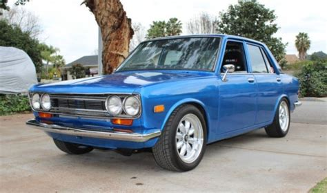 1971 Datsun 510 For Sale by 240sx Powered 1971 Datsun 510 Sedan Bring A Trailer