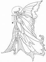 Fairy Coloring Princess Disney Pages Fairies Colouring Printable Adults Adult Dragon Colour Sheets Dragons Fantasy Christmas Diposting Oleh Admin Di sketch template