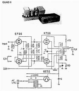 Quad Ii 2  22 Power Amplifier Schematics   Owner Manual