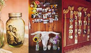 26, Creative, Diy, Photo, Display, Wedding, Decor, Ideas