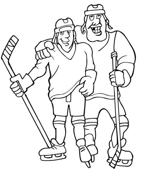 Kleurplaat As Hockey by Hockey Coloring Pages Coloring Home