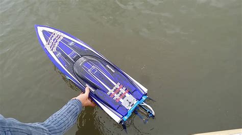 Traxxas Rc Boats Youtube by Traxxas Spartan 6s Rc Boat Bitz Youtube