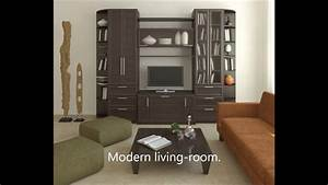 Wall Designs For Living Room Lcd Tv Beautifuling Furniture