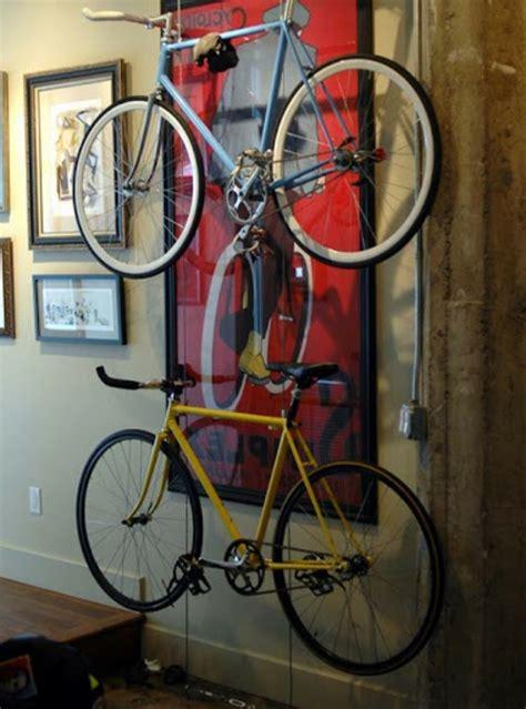 Das Fahrrad Zu Hause Richtig Aufbewahren