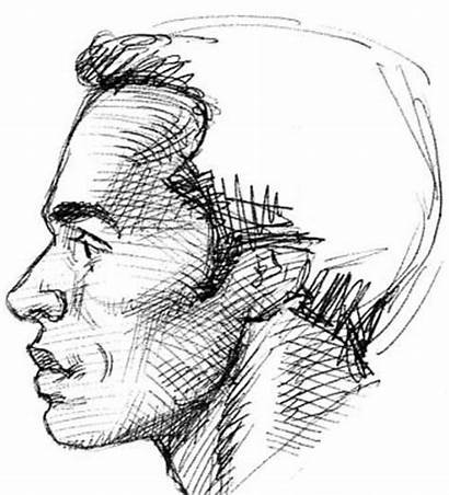 Profile Face Draw Techniques Guy Effects