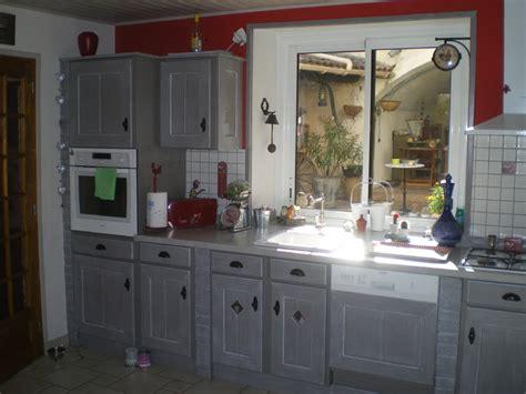 v33 renovation meubles cuisine awesome meuble cuisine peint en bleu gallery lalawgroup