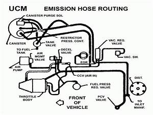 1986 Chevy S10 Vacuum Line Diagram