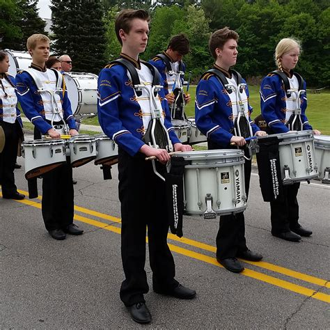 band performs greenfield memorial parade conval regional high school