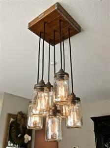 diy light fixtures mason jar diy craft projects