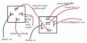 2 Best Images Of 87a Relay Wiring Diagram