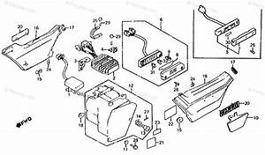 Honda Motorcycle 1984 Oem Parts Diagram For Side Cover