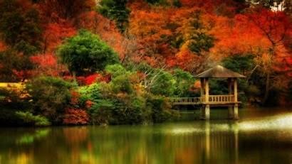 Scenes Wallpapers Desktop Fall Autumn Scene Computer