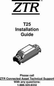 Tr Controls 110671 Asset Tracking Device User Manual General