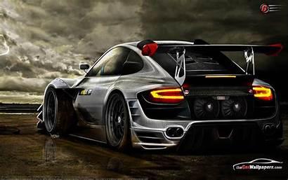 Awesome Porsche Rally