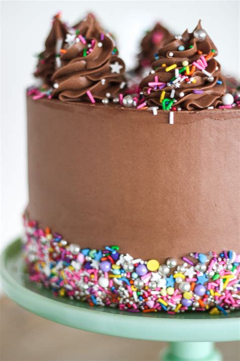 add sprinkles   side   cake cake
