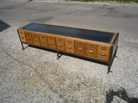 cuisine meuble ikea banc chaussures creation metier 10 tiroirs chene acier 1950 mettetal industry design