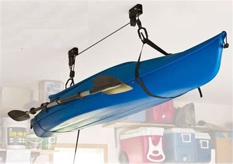Kayak Ceiling Hoist Australia by Kayak Hoist Lift Pulley System Ceiling Rack Hook Garage