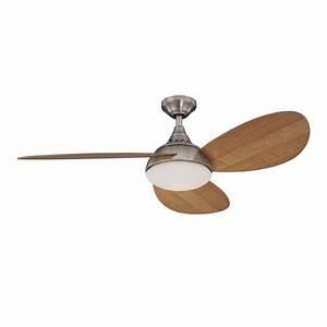 Harbor breeze in avian brushed nickel ceiling fan