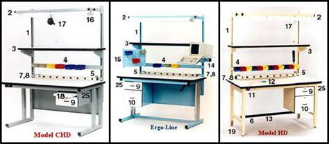 stock modular workbench accessories quick ship pro