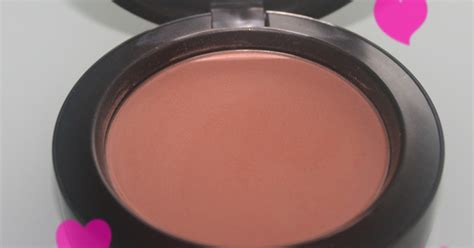 makeup beauty    thoughts  mac sheertone blush  sincere swatches