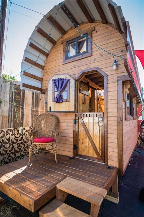 sq ft roly poly tiny house  sale