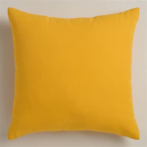 yellow throw pillow yellow outdoor throw pillows world market