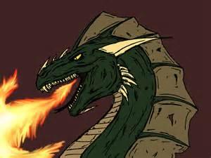 Dragon Head Breathing Fire