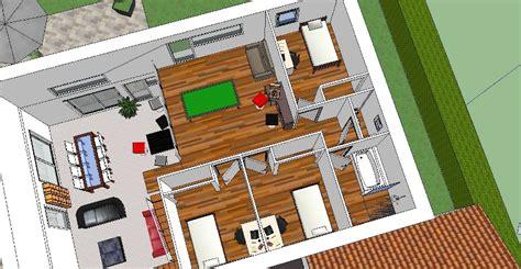 cuisine sous escalier maison etage 160m plafond cathedrale sur terrain