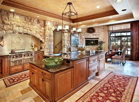 Antique Tuscan Wall Cladding-mediterranean-kitchen
