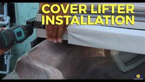 Hot Tub Cover Lifter Installation Instructions