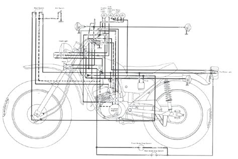 Yamaha Dt3 250 Wiring Diagram by 1977 Yamaha Dt 250 Wiring Diagram Hobbiesxstyle